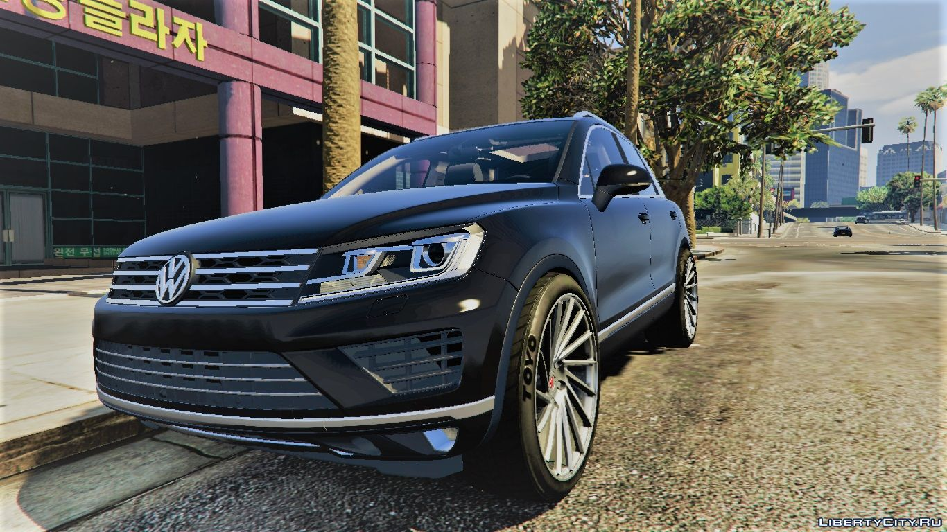 volkswagen touareg v10 tdi add on handling 1 1 for gta 5. Black Bedroom Furniture Sets. Home Design Ideas