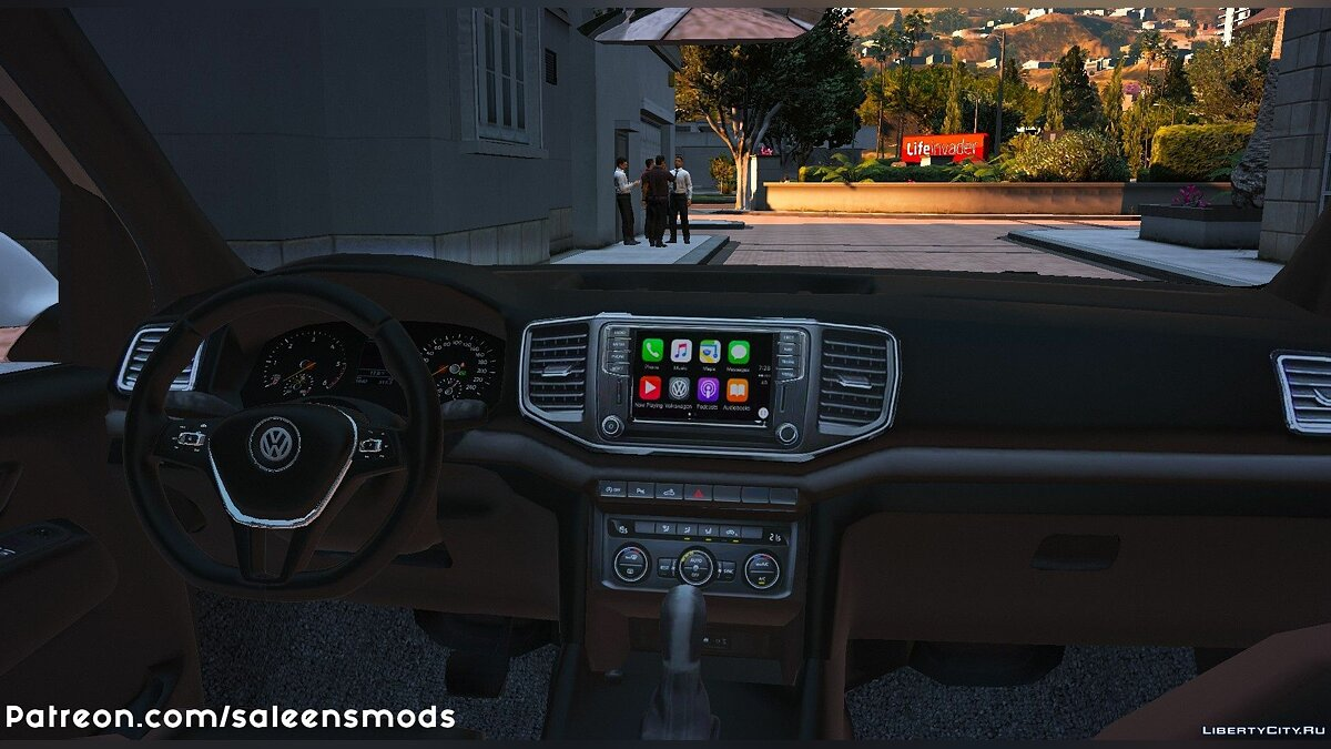 Volkswagen car 2018 Volkswagen Amarok V6 [Add-on / Replace] 1.0 for GTA 5