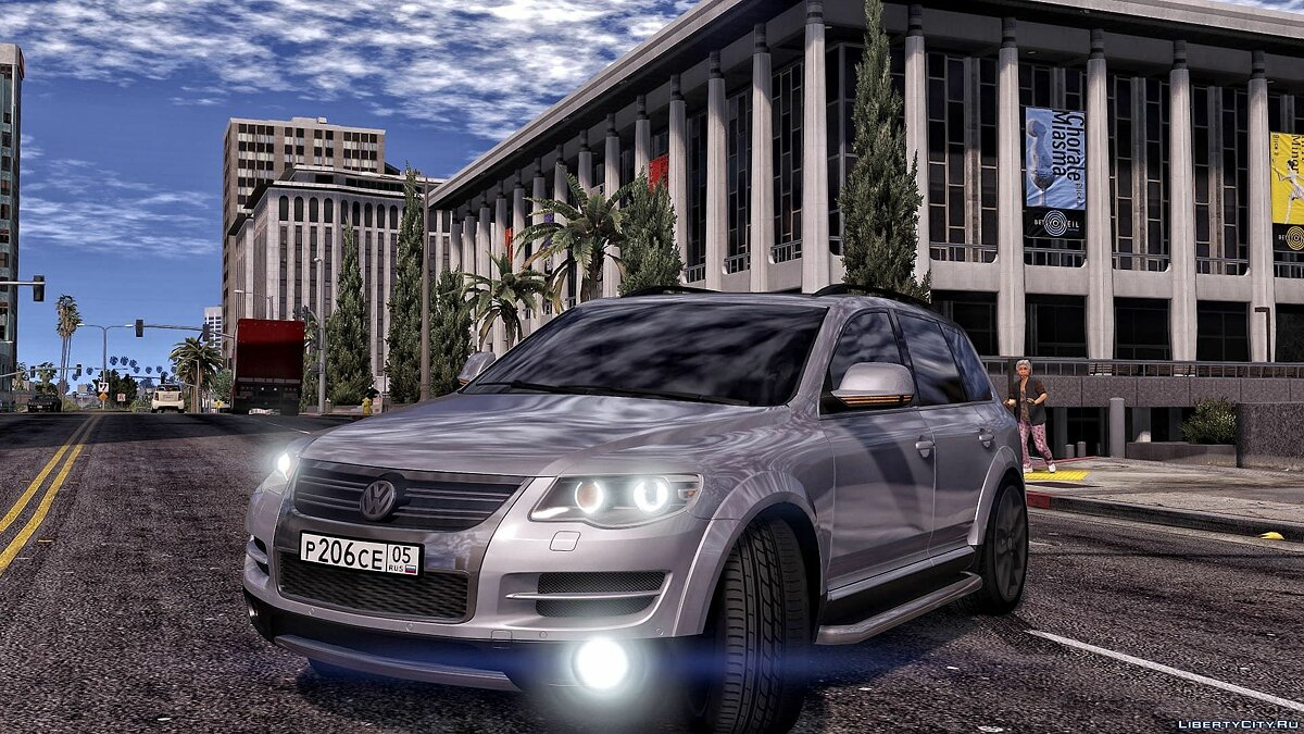 Volkswagen car Volkswagen Touareg for GTA 5
