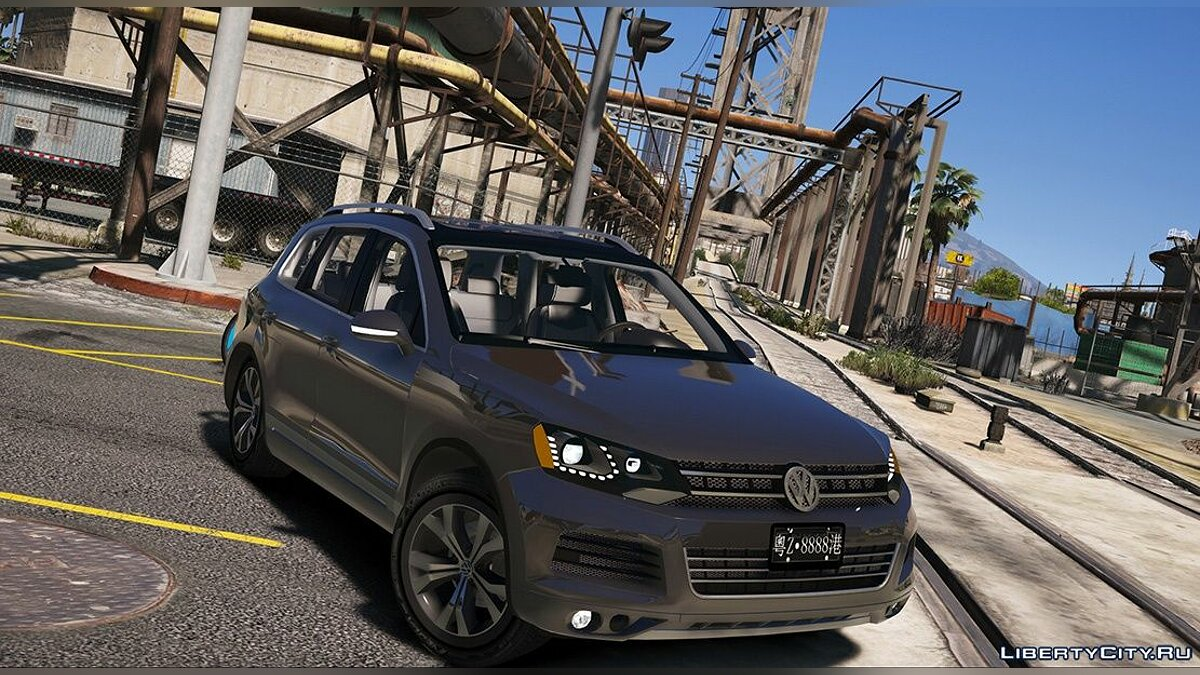 Volkswagen car Volkswagen Touareg V8 tdi 1.0 for GTA 5