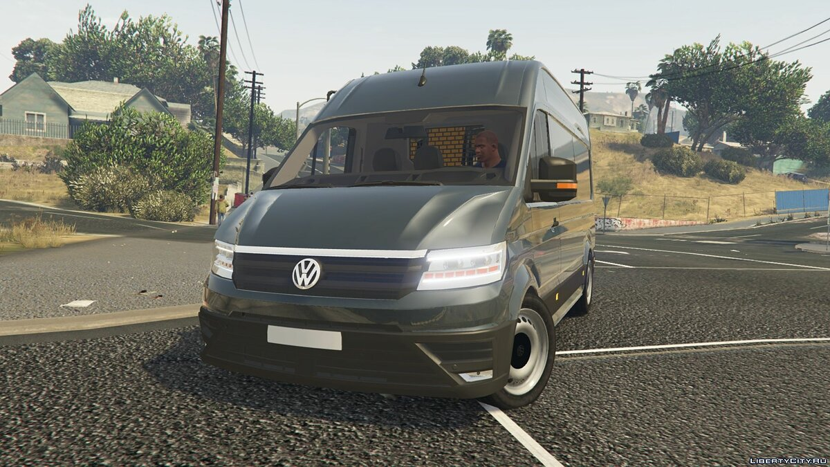Volkswagen car Volkswagen Crafter 2017 L1H2 [Replace] 0.1 for GTA 5