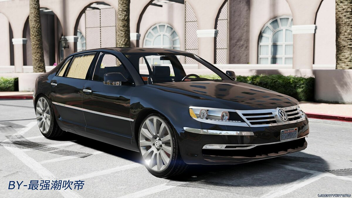 Volkswagen car 2014 Volkswagen Phaeton W12 1.0 for GTA 5
