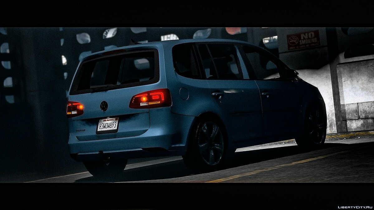 Volkswagen car Volkswagen Touran 2012 [Add-on / Replace | Dials | HQ Interior] 1.0 for GTA 5