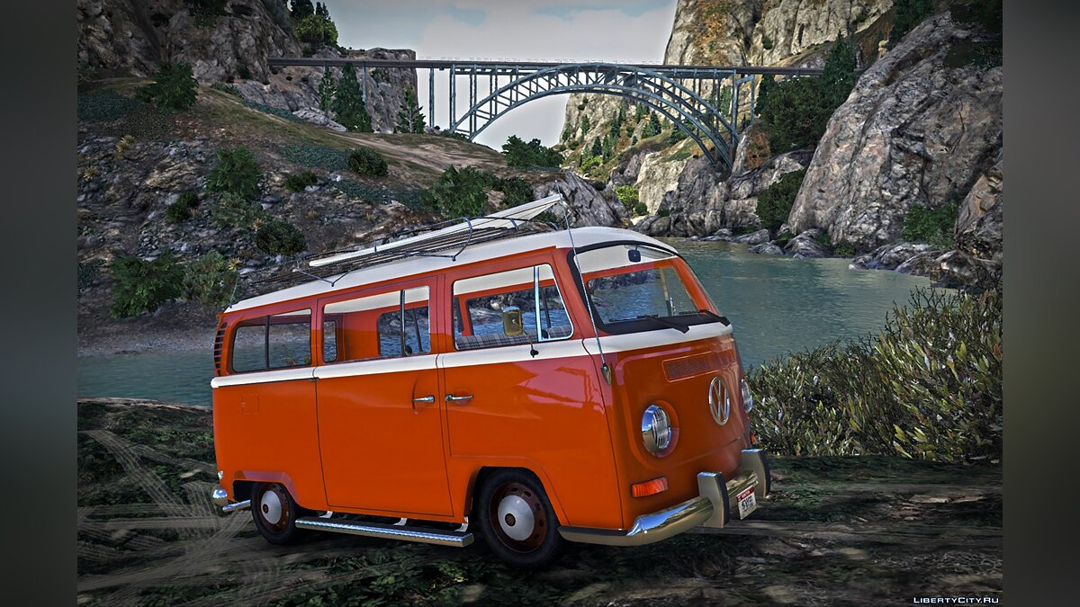 Volkswagen Combi [Replace / Add-On / Trailer] 1.0 for GTA 5