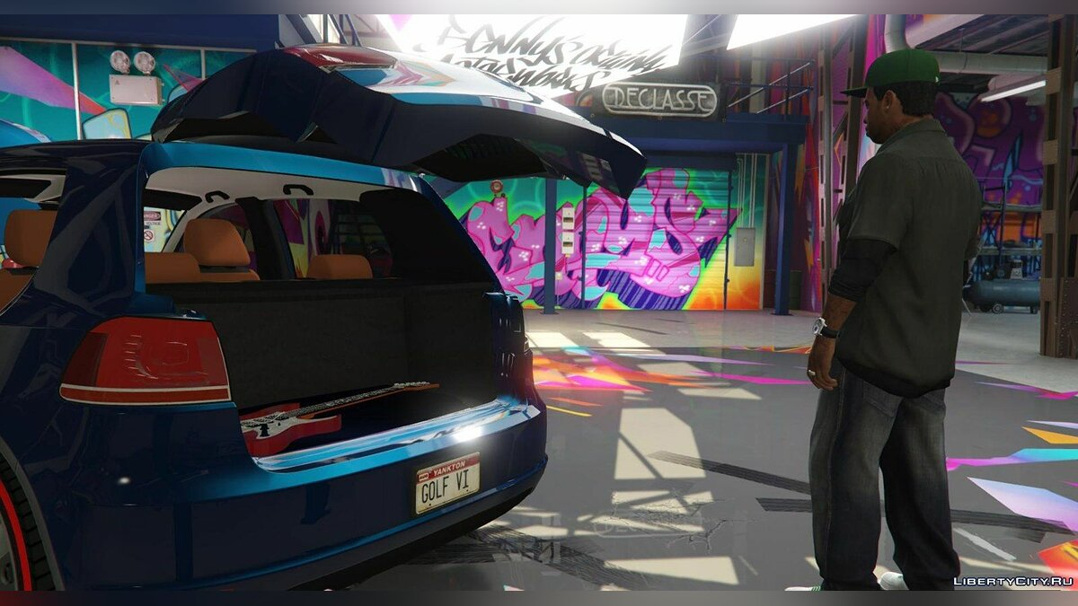 Volkswagen car Volkswagen Golf Mk 6 for GTA 5