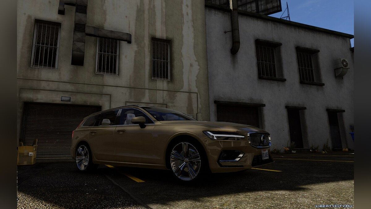 Volvo car Volvo V60 2018 [Add-On / Replace] 1.0 for GTA 5