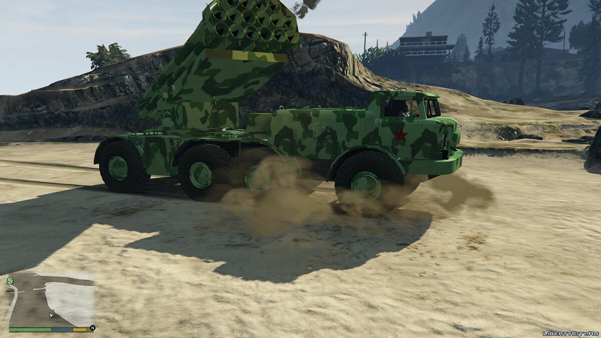 Military vehicle ZIL 135 [Add-On] for GTA 5