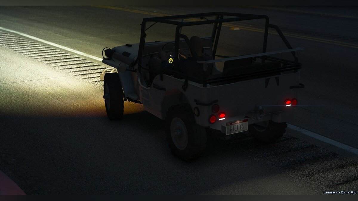 Military vehicle Jeep Willys MB [Add-On   Replace   Livery   Extras   Template] 1.2 for GTA 5