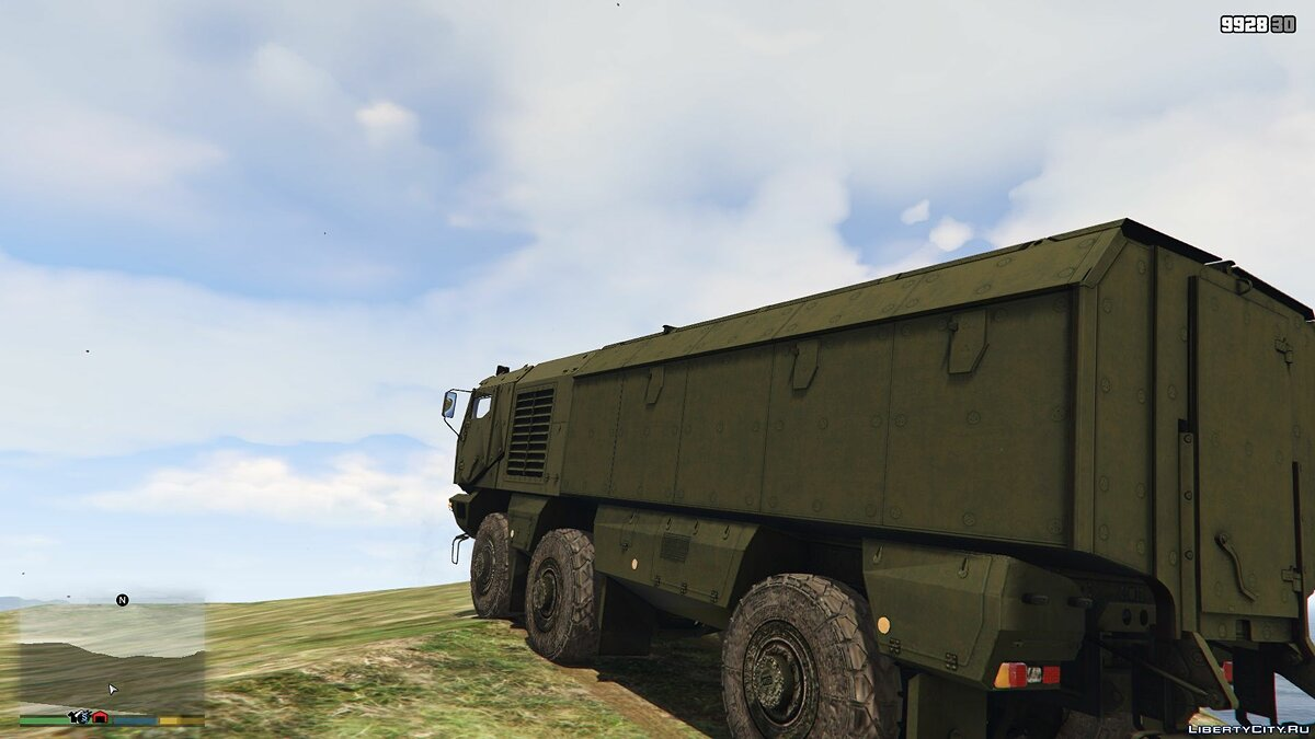 Military vehicle KamAZ-6396 [Add-On] v1.0 for GTA 5