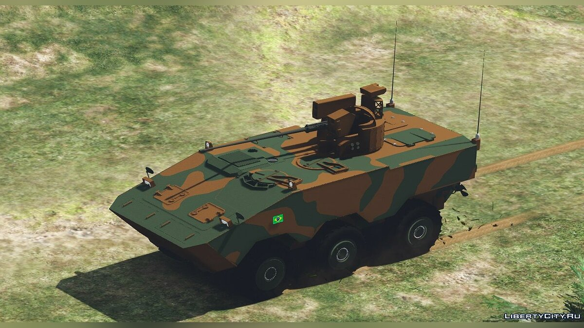 Military vehicle VBTP MR Guarani [Add-on] 1.0 for GTA 5