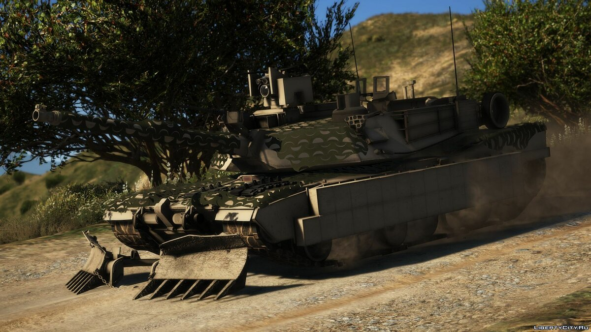Military vehicle M1A2C Abrams mega pack [Lots of tuning | Add-On] 1.0 for GTA 5
