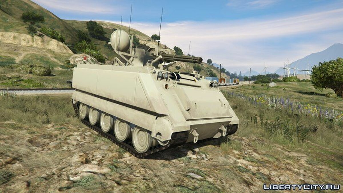 Military vehicle M16 Vulcan [Add-On] for GTA 5