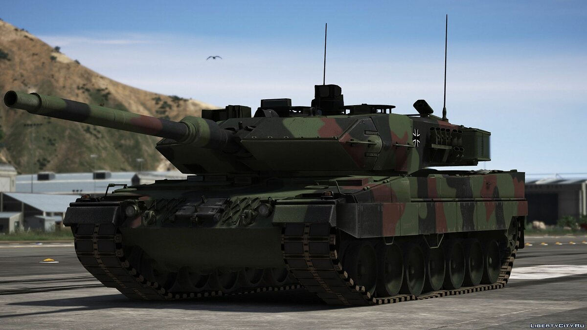 Military vehicle Leopard 2A7V [Add-On | Many visual tuning options] 1.0 for GTA 5