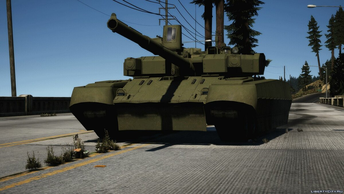 Military vehicle T-84 BM