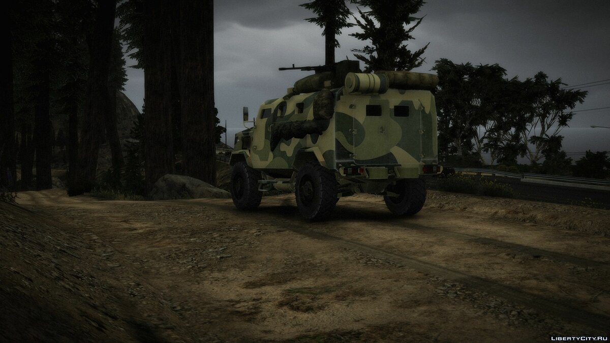Military vehicle SPM-3