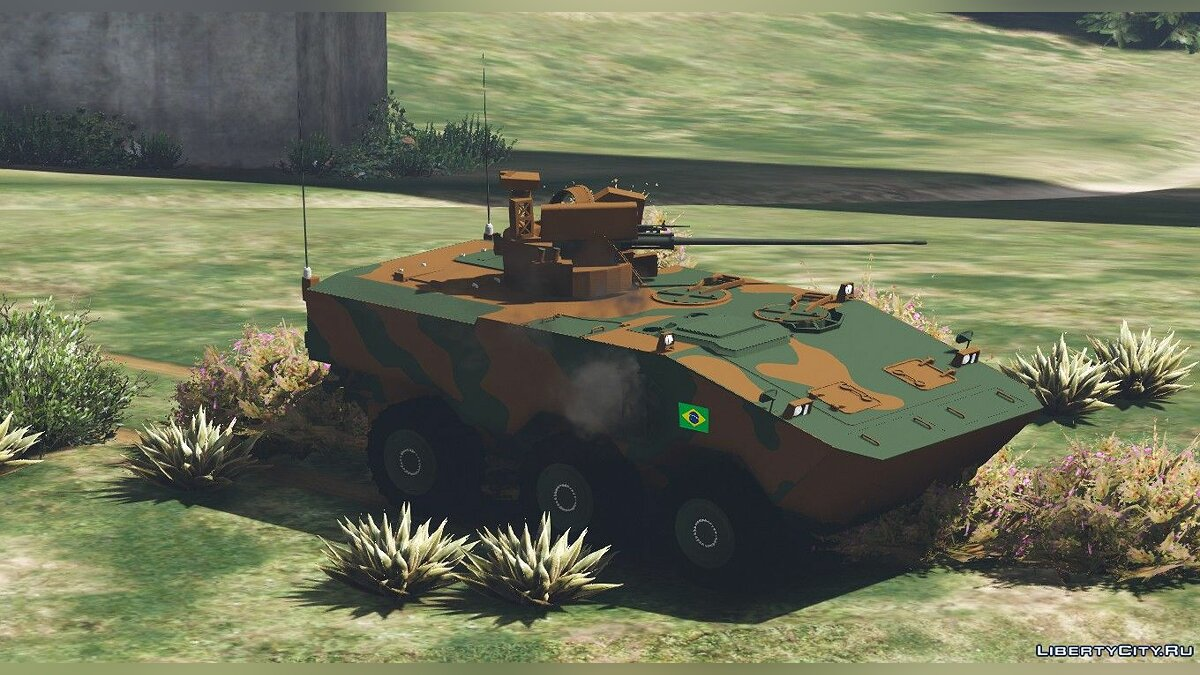 Military vehicle VBTP MR Guarani for GTA 5