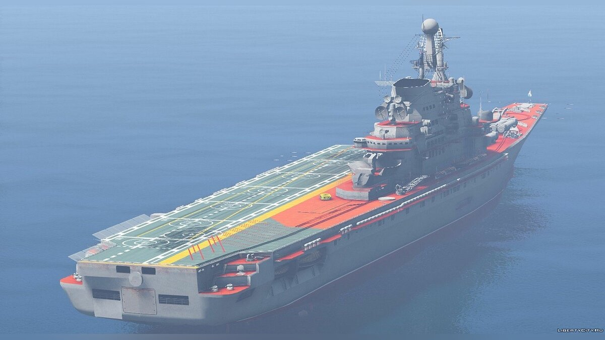 Boats and motorboats Soviet Aircraft Carrier Kiev [Add-on] for GTA 5