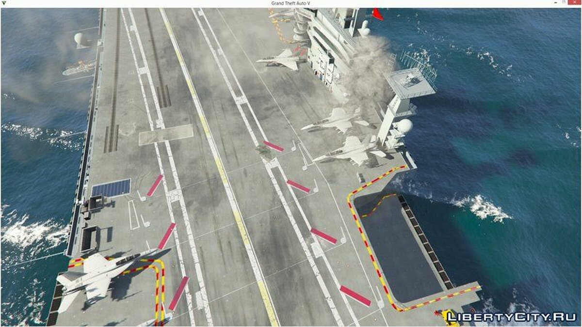 Boats and motorboats Nimitz Aircraft Carrier [Add-On] for GTA 5