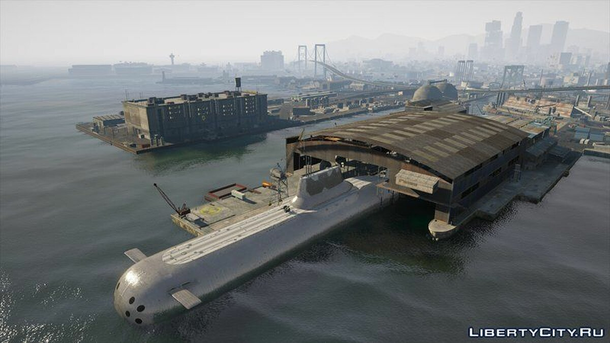 Boats and motorboats Doomsday submersible drivable [Add-On] for GTA 5