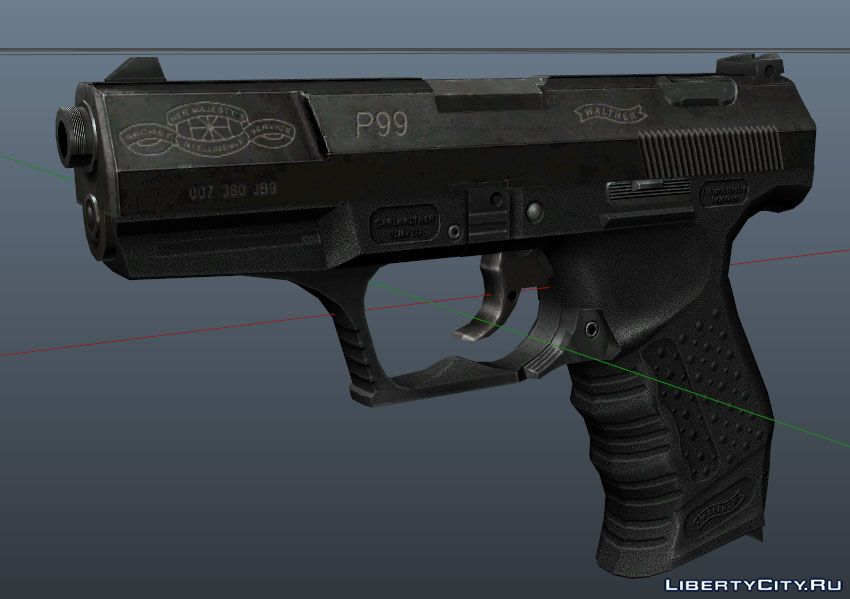 Walther P99 for GTA 5