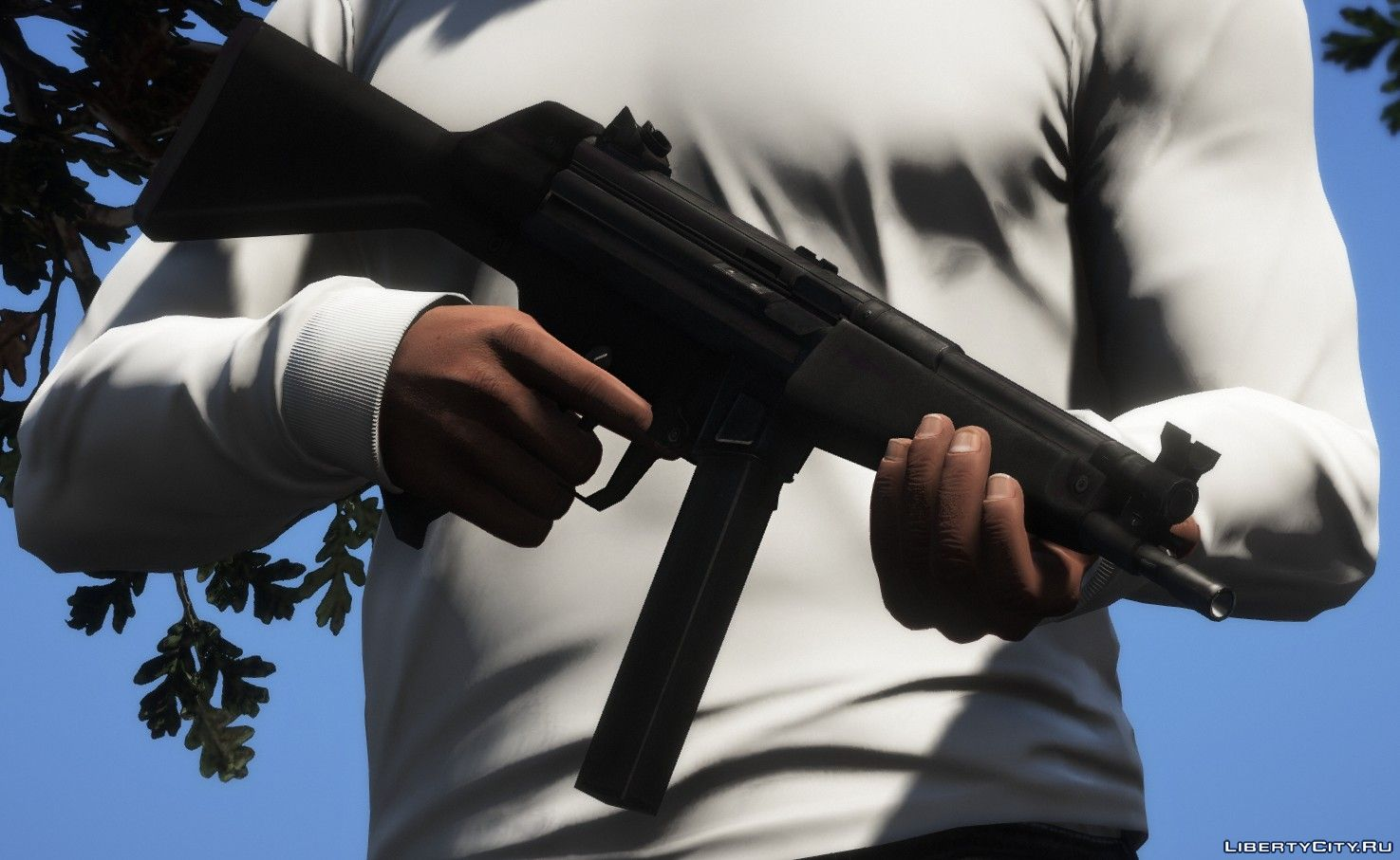 New weapons for GTA 5: 586 weapon mod for GTA 5 / Page 6