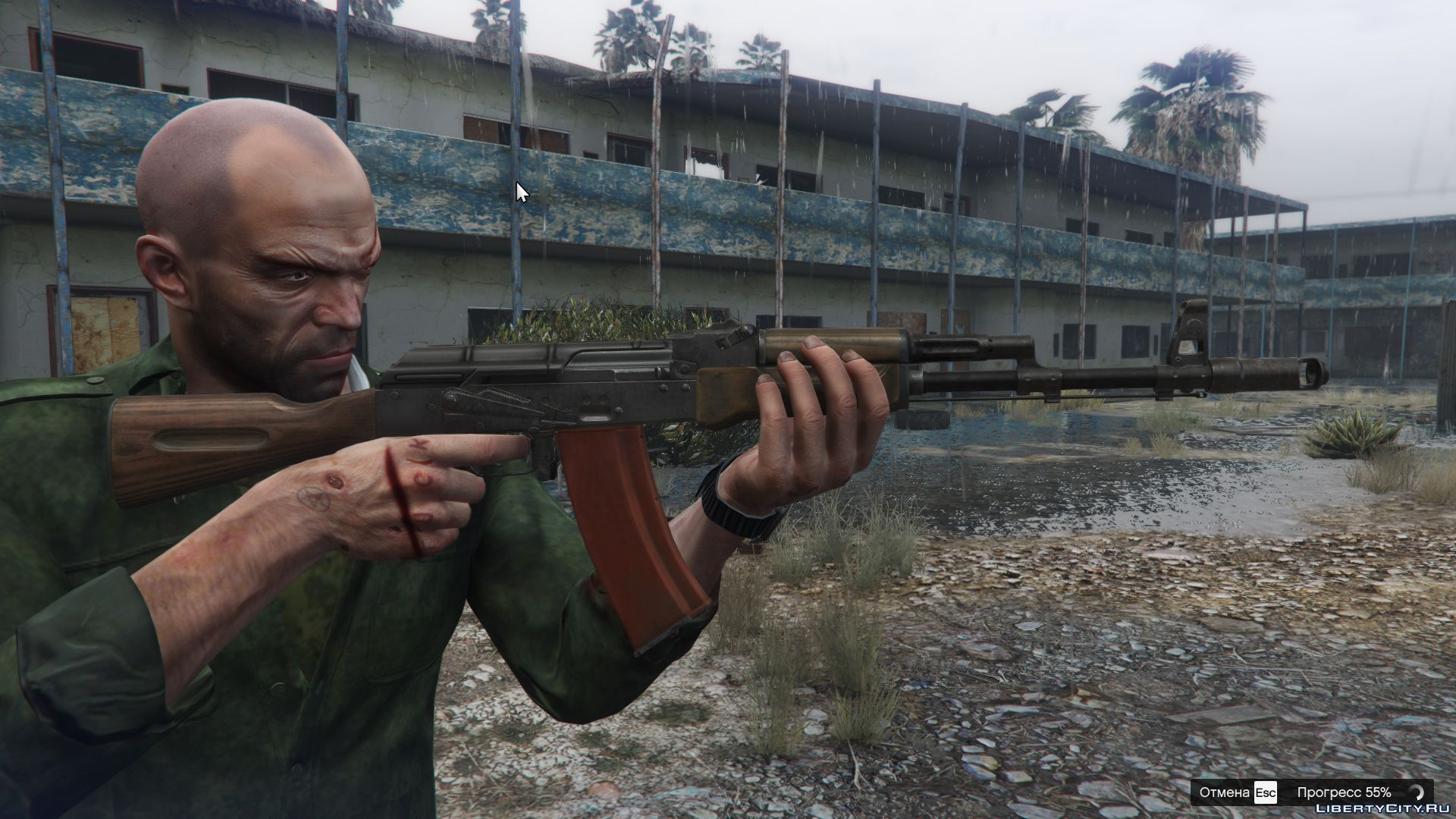 AK-74 from Escape from Tarkov for GTA 5