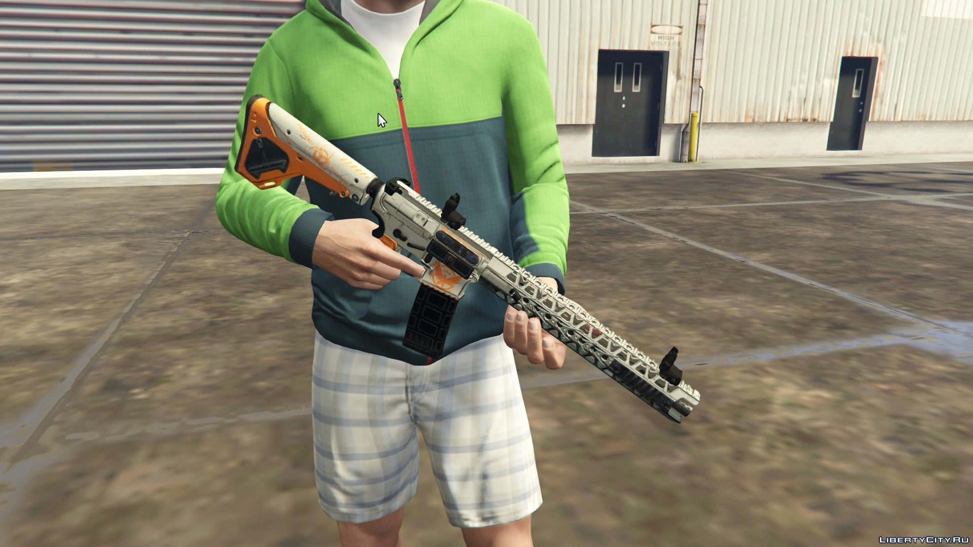 Replacement of w_ar_carbinerifle hi ytd in GTA 5 (17 file)