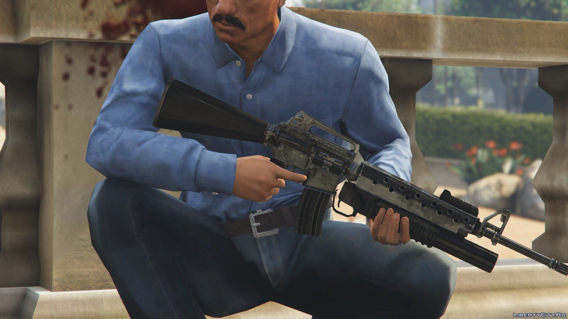 New weapons for GTA 5: 586 weapon mod for GTA 5 / Files have