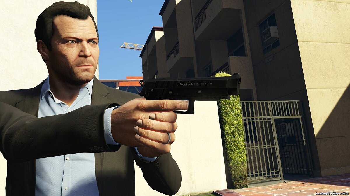 Weapon mod Improved Standard Weapons for GTA 5