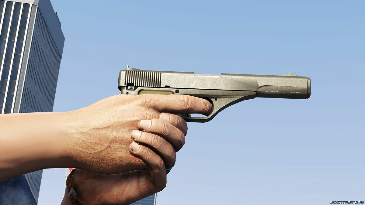 Weapon mod Vintage Pistol without engravings for GTA 5