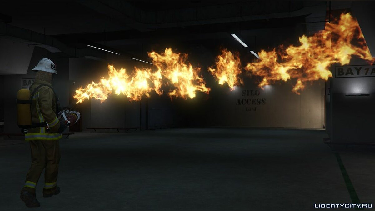 Weapon mod Flamethrower [Add-On | 1.0 for GTA 5