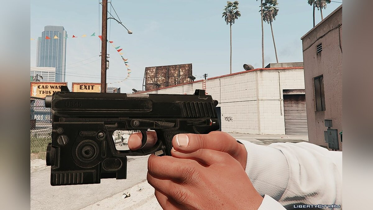 Weapon mod USP .45 from Call of Duty: Modern Warfare Remastered for GTA 5