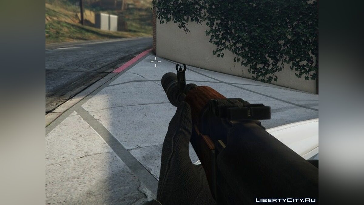 Weapon mod AK-47 [FIXED] for GTA 5