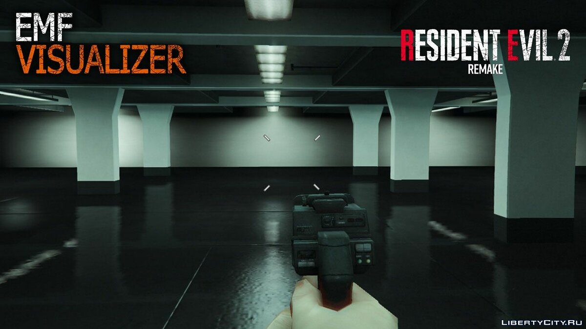 Weapon mod Pistol Visualizer from the game Resident Evil 2 Remake for GTA 5