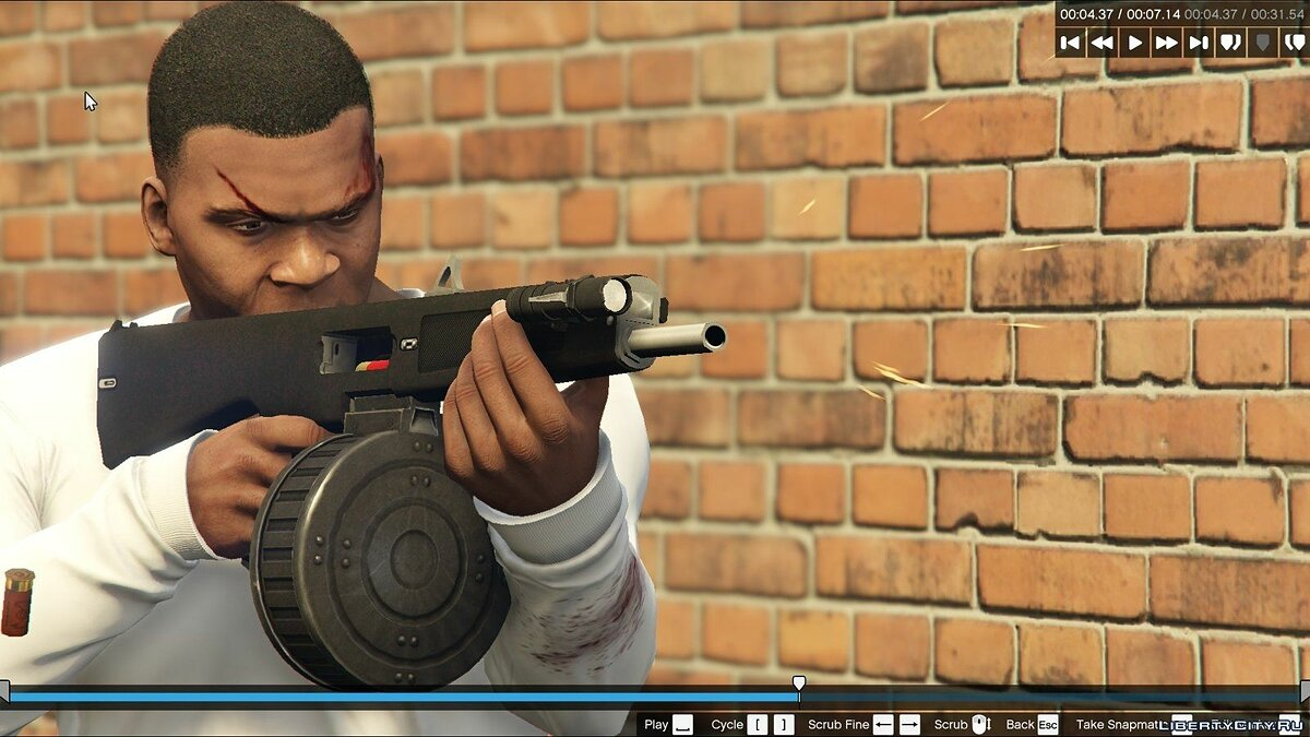 Weapon mod AA12 for GTA 5