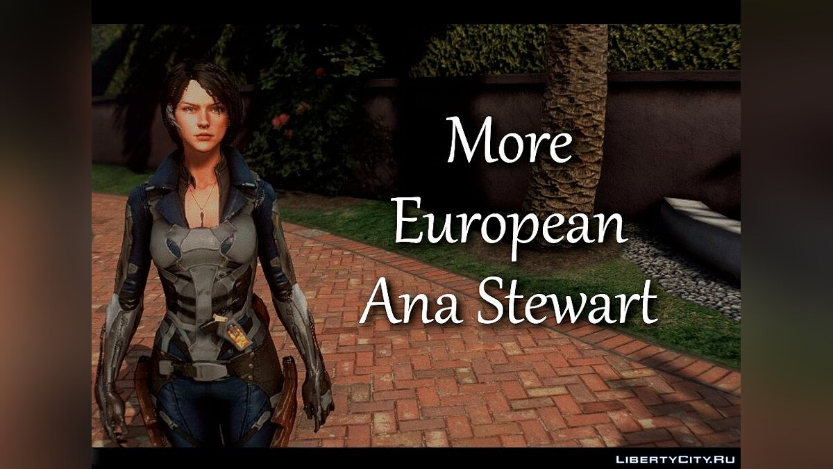 Weapon mod Anna Stuart from Metro Conflict for GTA 5