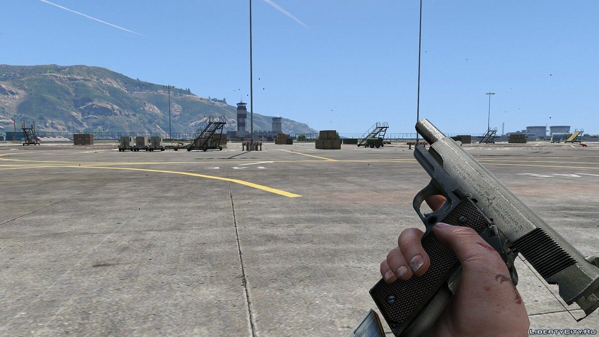 Weapon mod Colt M1911 .45 Cal [Animations] for GTA 5