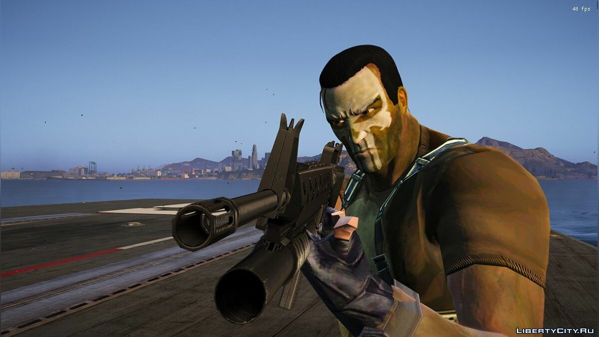 Weapon mod M16A3 + M203 1.0 for GTA 5