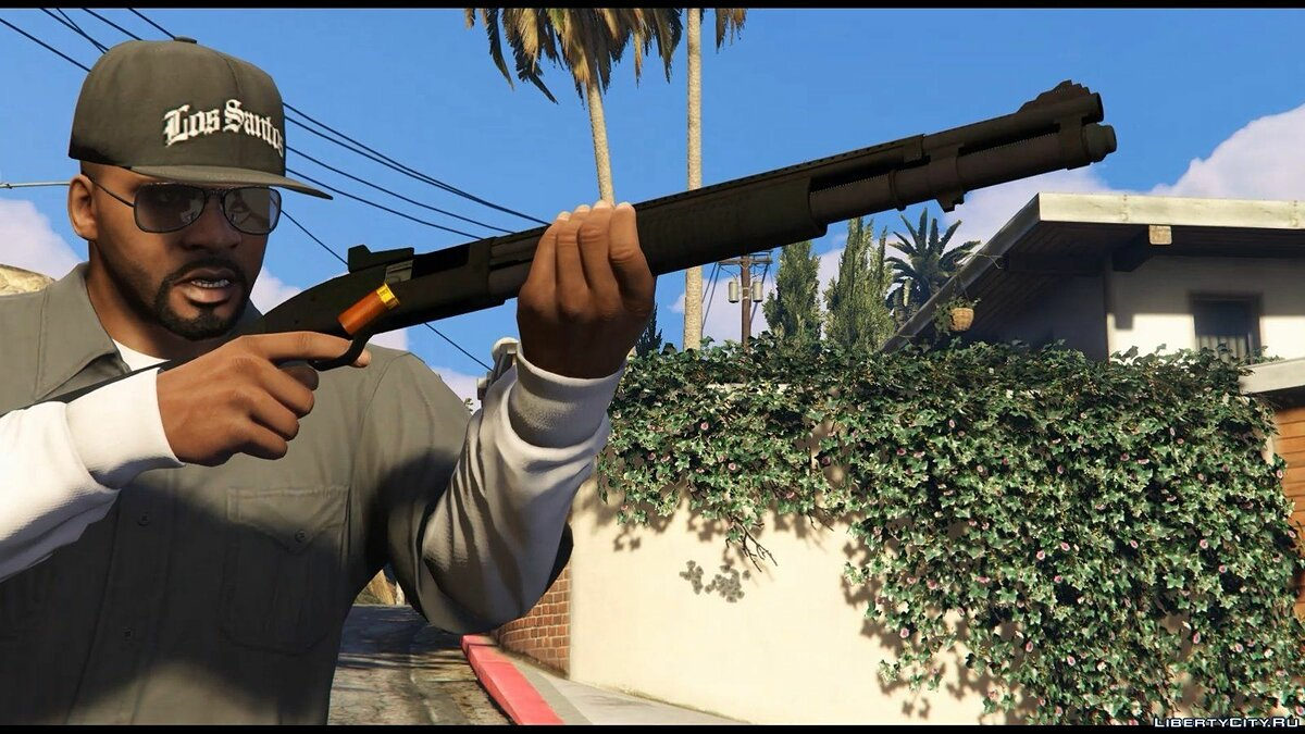 Weapon mod Mossberg 590 for GTA 5