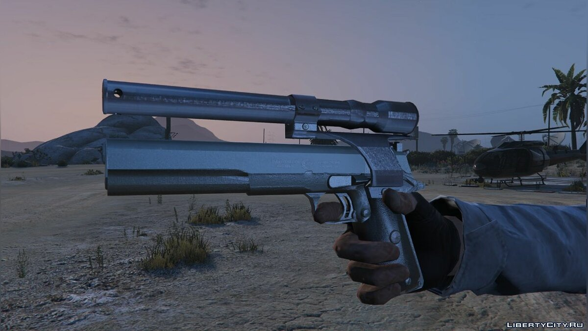 Weapon mod M1911 .45 Longslide with Laser Sight for GTA 5