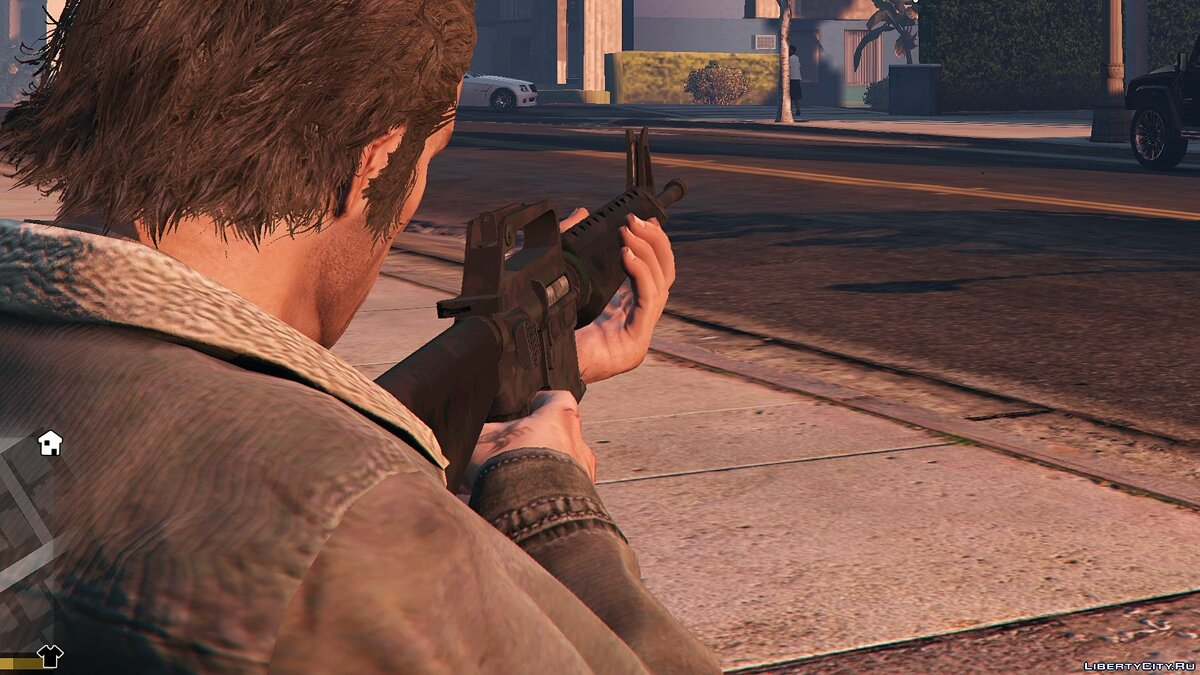 Weapon mod M-16VN 1.1 for GTA 5
