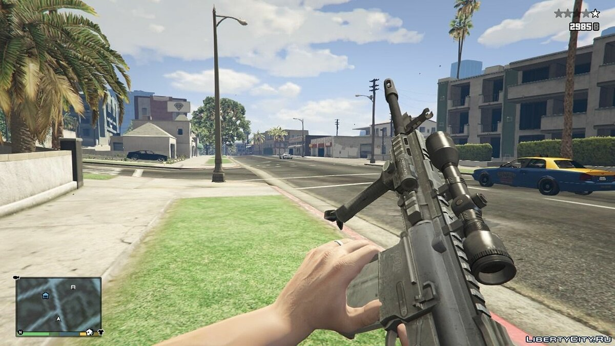 Weapon mod MR-28 for GTA 5