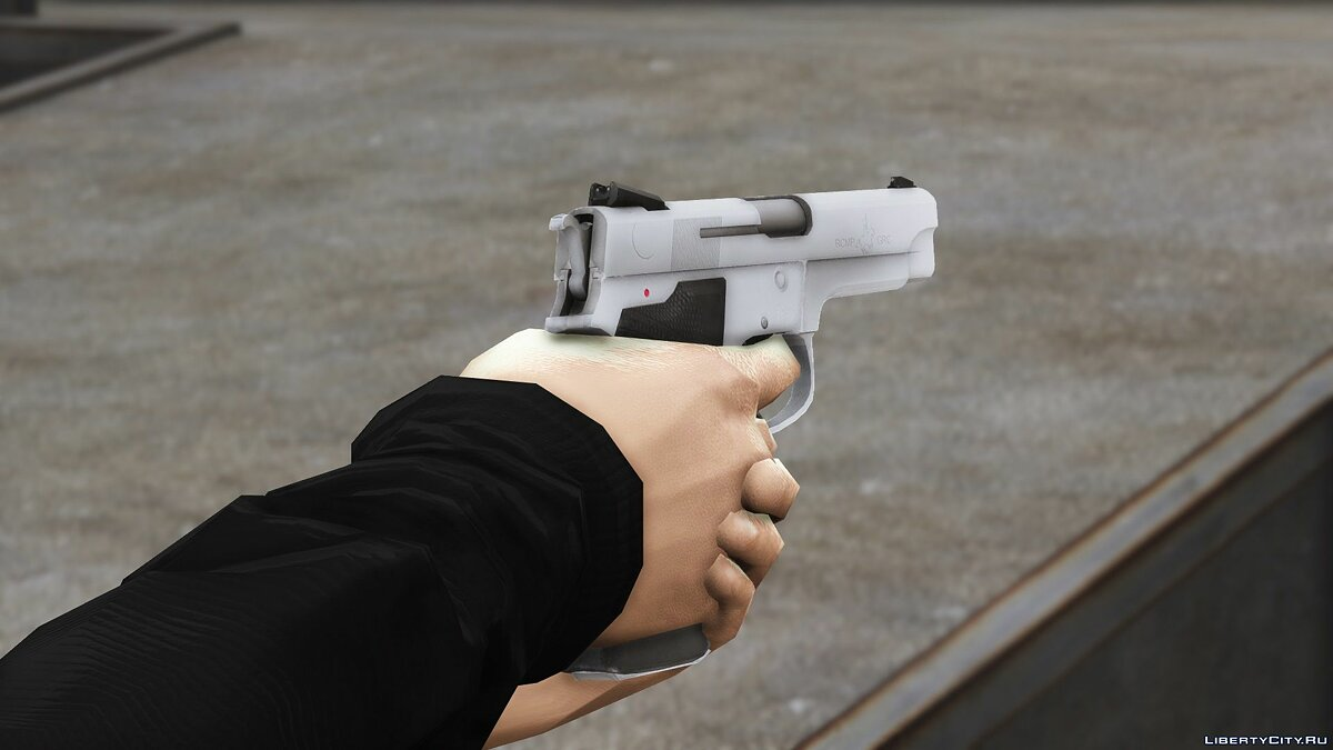 Weapon mod Smith & Wesson Model 5946 RCMP Service Pistol for GTA 5