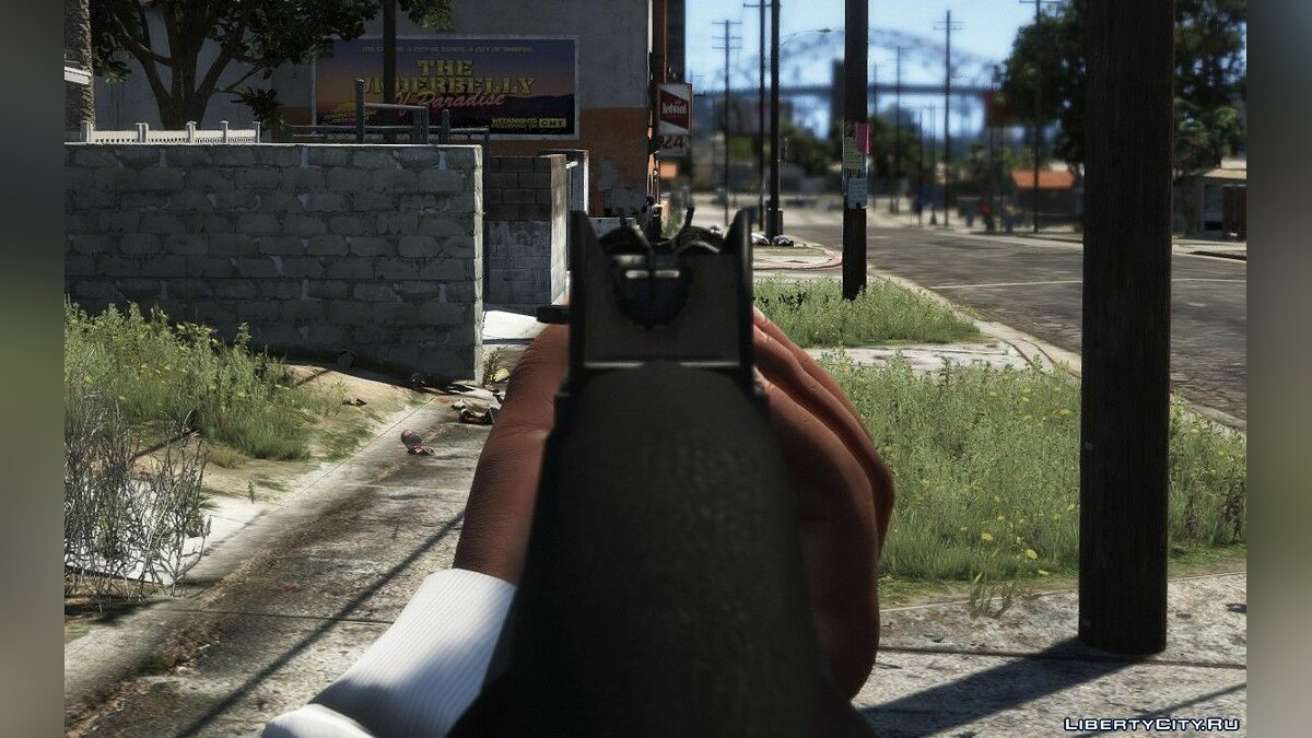 Weapon mod New skin for MP5 for GTA 5