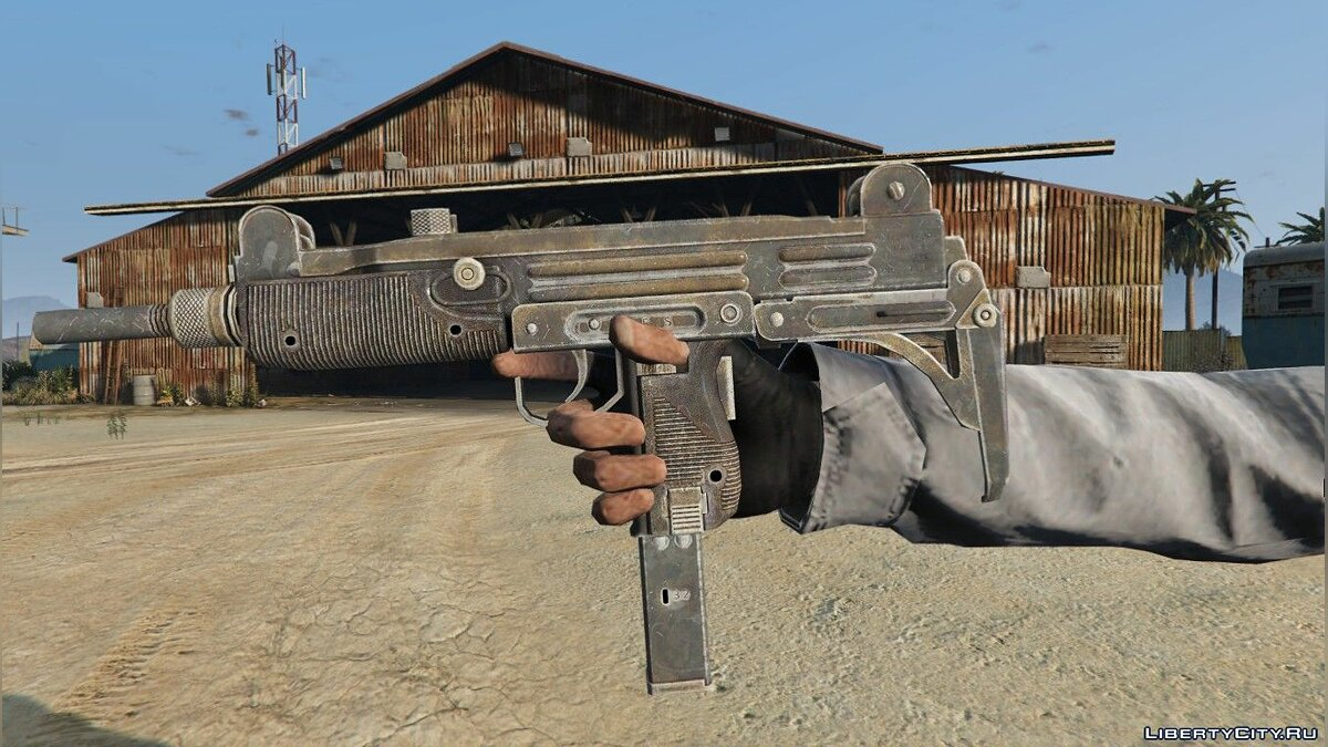 Weapon mod Ultrasound 9mm for GTA 5