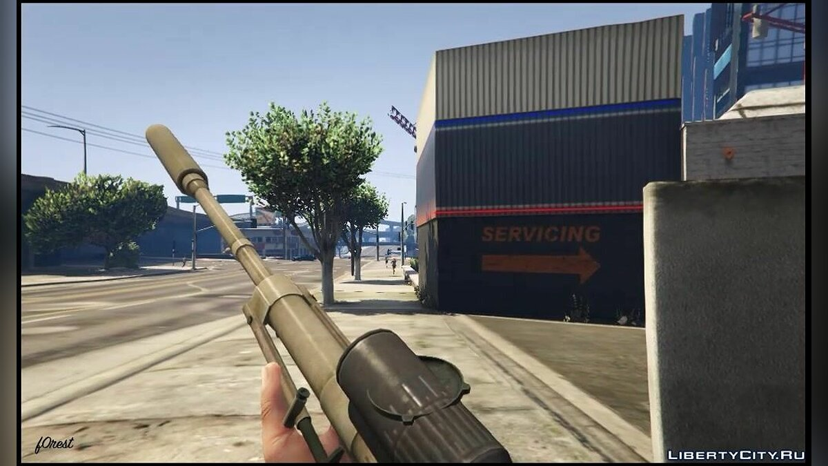 Weapon mod Cheytac M200 Intervention for GTA 5