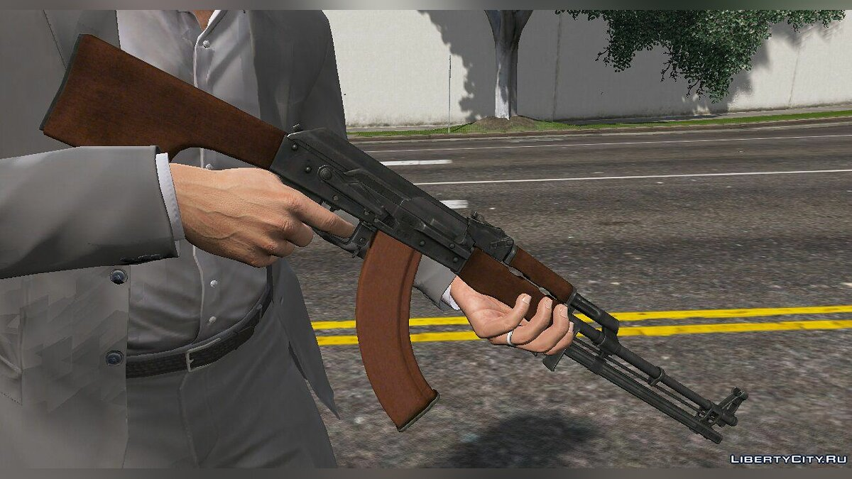 Weapon mod RPK [Animated] 1.0 for GTA 5