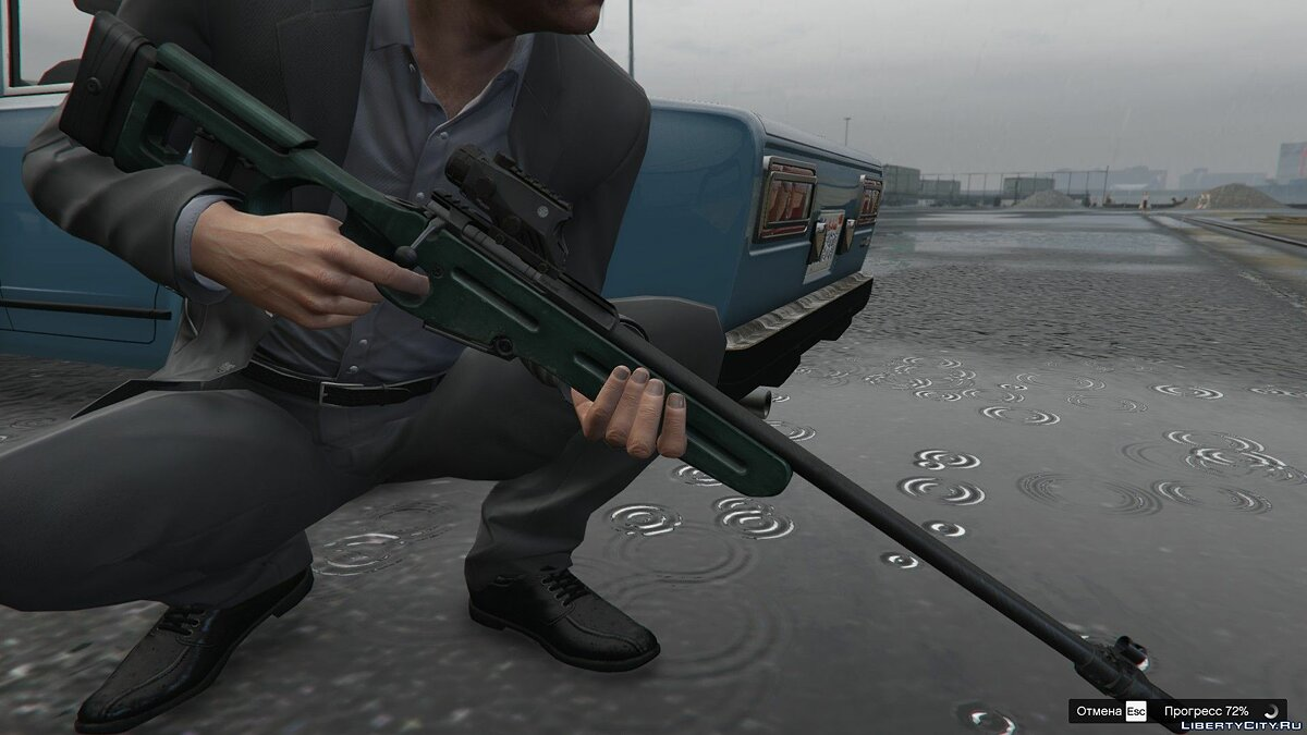 Weapon mod СВ-98 из Escape from Tarkov for GTA 5