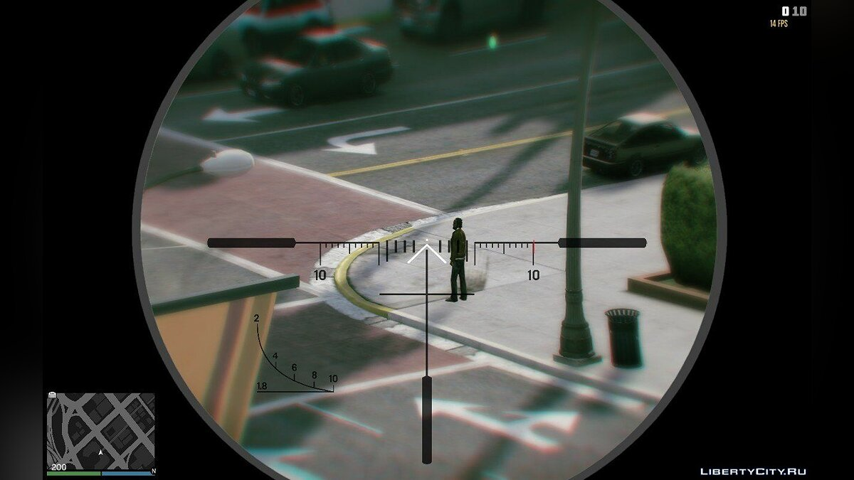 Weapon mod Great scope for sniper rifle for GTA 5