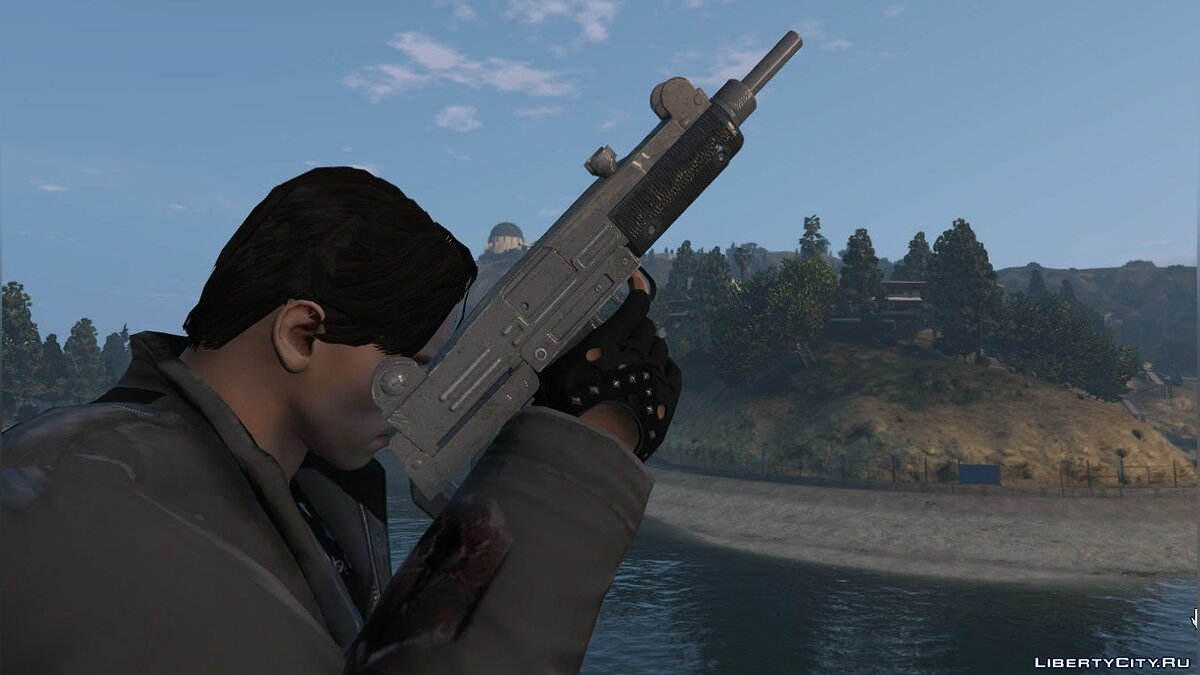Weapon mod Retro Ultrasound 9mm for GTA 5